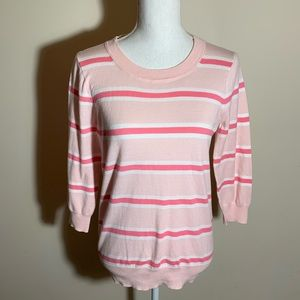 J. Crew Factory Striped Sweater S
